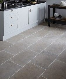 Dorsaf Tumbled Grey Tile