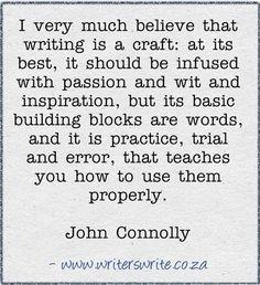 Quotable - John Connolly - Writers Write Creative Blog