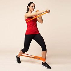 Our resistance band exercises for beginners target your back, arms, abs, obliques, and legs, helping keep you toned and trim. Burn calories and sculpt your body with these Tae Bo resistance band workouts!