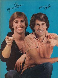 Shaun Cassidy and Parker Stevenson