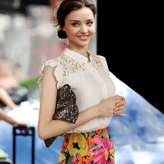 T - shirt - http://zzkko.com/n168471-013-summer-new-European-and-American-big-yards-hollow-white-lace-shirt-chiffon-shirt-short-sleeved-T-shirt-bottoming-shirt-female-summer.html $13.33