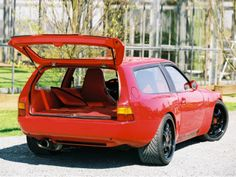 Coolest station wagon EVER! I totally would have bought this 944