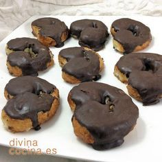 Spanish Food, Churros, Flan, Mexican Food Recipes, Muffin, Cookies, Baking, Breakfast, Easy