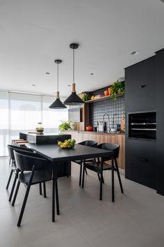 Kitchen Sink Decor, Kitchen Styling, Kitchen Dining, Kitchen Gourmet, Dinner Room, Home Decor Trends, Decor Ideas, Home Kitchens, Living Room Designs