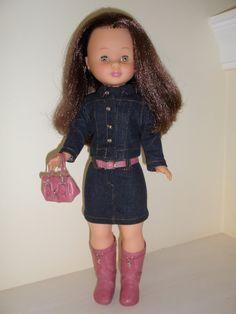 Una de mis preferidas Nancy Doll, Shirt Dress, Dolls, American, Casual, Shirts, Dresses, Style, Fashion