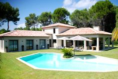 Villa Belair for holiday rental in Mougins, South of France