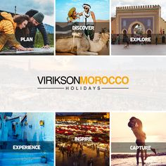 Let's plan for a journey to majestic Morocco to discover the dukes of Sahara, depth of the sea, to explore it by getting yourself lost in the souq of Morroco. Morocco Beach, Visit Morocco, Morocco Travel, Marrakesh, Casablanca, Holiday Destinations, Travel Destinations, Agadir, Cheap Travel
