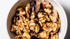 Thyme-Roasted Walnuts Recipe   Bon Appetit
