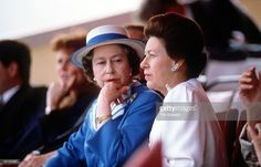 The Queen And Princess Margaret.