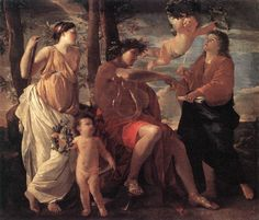 Nicolas Poussin, L'inspiration du poète