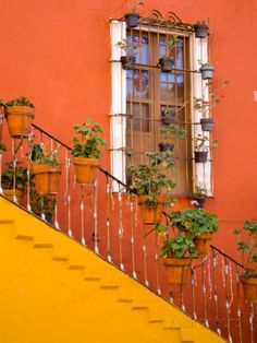 Mexican architecture to paint.