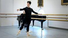 Jeté / Music for Ballet & Contemporary Classes CD / Søren Bebe (piano) / Allan Nielsen (Class) / Robin Bernadet (Dancer)