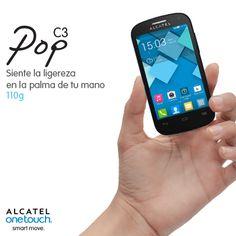 Con el POP C3, solo debes nombrar a tu contacto para llamarlo. ¡Marcación por voz en tu ALCATEL ONETOUCH es #smartmove!