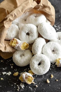Mini Powdered Doughnuts! Ready in 20 minutes!