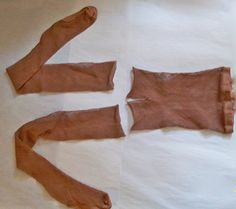 """Make your own belly stocking.  The author of this tutorial says, making your own this way will keep you cooler, keep your belly button looking natural, and avoids a """"cabbage patch doll"""" look.  :)"""