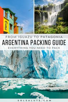 An Argentina Packing List | What to pack for Argentina | What to pack for Patagonia | Patagonia packing list | Patagonia packing guide | What to pack for Iguazu | Iguazu Packing List | What to pack for Buenos Aires | Buenos Aires packing list | What to pack for a trip to Argentina | Mendoza packing list | What to pack for Mendoza | What to wear in Buenos Aires | What to bring to Argentina | What to wear in Patagonia | Argentina travel packing tips | Argentina packing list Buenos Aires