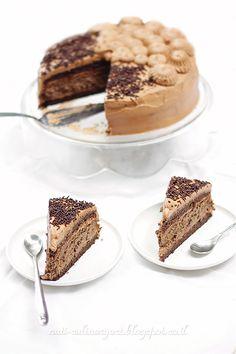 Double cheesecake with dark chocolate -דאבל עוגת גבינה עם שוקולד מריר Culinary Arts, Cakes, Ethnic Recipes, Blog, Cake Makers, Kuchen, Cake, Blogging, Pastries