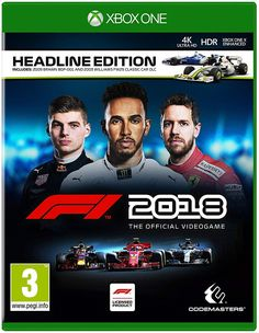 2018 Headline Edition for PlayStation 4 delivers an authentic representation of the world of Formula 1 sport, providing an immersive, high-end racing experience with the full roster of teams, drivers and circuits from the 2018 season of Formula One. Jeux Xbox One, Xbox 1, Xbox One Games, Ps4 Games, Playstation Games, Nintendo Games, Maisie Williams, Ps4 Price, Belgian Grand Prix
