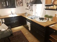 Small Kitchen ideas organization Hello, if you're interested in. Home Decor Kitchen, Kitchen Design Small, Kitchen Decor, Interior Design Kitchen, Kitchen Remodel Small, Wood Kitchen Counters, Farmhouse Kitchen Remodel, Kitchen Dinning, Kitchen Design
