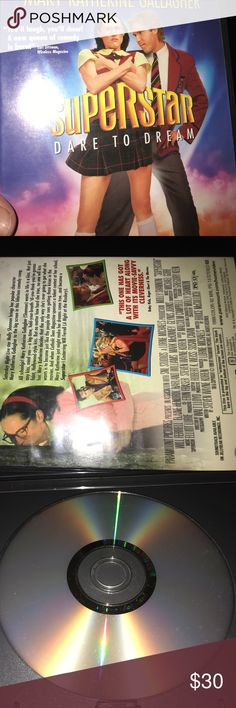 """Superstar Dare to Dream Gallagher Will Ferrell DVD Rare Used DVD see photos of the item you get title """"Superstar Dare to Dream- Mary Catherine Gallagher """" from Saturday Night Live. Stars Molly Shannon and Will Ferrell. Paramount Pictures Other"""