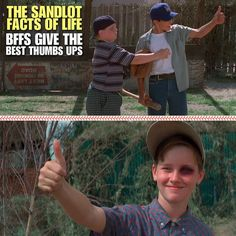 Atta Boy Smalls, Taught Him Everything He Knows -Hamilton The Babe Porter (HAM) 90s Movies, Great Movies, I Movie, Childhood Movies, Sandlot Benny, The Sandlot, Sandlot Quotes, Movie Quotes, Yeah Yeah Sandlot