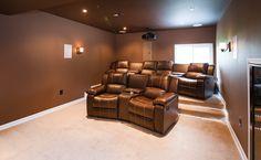Theater room in Northern VA