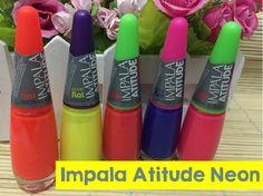 Swatches Coleção Impala Atitude Neon