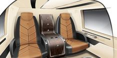 Andrew Winch Designs Luxury Helicopter Interior
