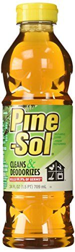 15. Pine-Sol To Keep The Flies Away: Just mix equal parts Pine-Sol and water. Use this to wipe down your camping areas and the smell will keep the flies away.
