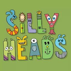 Sillyheads font