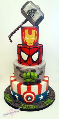 Fondant with fondant details, the hulk han. Fondant with fondant details, the hulk han. Avengers Birthday Cakes, Hulk Birthday, Superhero Birthday Cake, 5th Birthday, Birthday Ideas, Avenger Party, Avenger Cake, Thor Cake, Marvel Cake