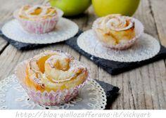 Rose di sfoglia alle mele e crema pasticcera