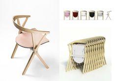 Beautiful folding chairs