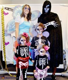 Love love love this!!! Fairy Skeleton Babies - 2013 Halloween Costume Contest via @costumeworks