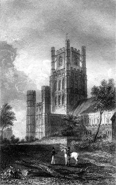 Ely-Cathedral-1830 - Kathedraal van Ely - Wikipedia