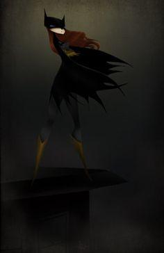 Batgirl by Andrea Rhodes