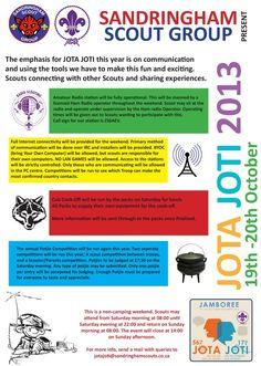 Jamboree on the Internet 2013 (JOTA JOTI)