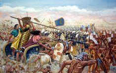 Hittite Chariots vs Egyptian Infantry