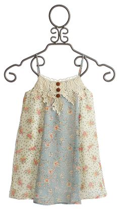 Hannah Banana Girls Cami Dress with Lace Applique $64.00 Back up dress for Julia to wear for the party!