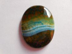 Gorgeous Natural Crack Druzy oval cabochons - Various Mixed color Geode Polished both side Pendant Size 42x32 mm Beautiful item. by Gemstonebeadsfinding on Etsy