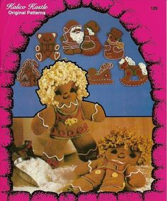 Gingerbread Goodies Kalico Kastle Pattern by kalicokastle on Etsy, $6.00