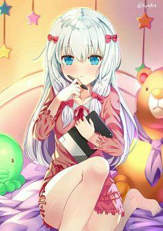 Anime, Art, Аниме, Izumi Sagiri, Eromanga Sensei