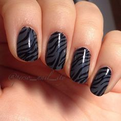 Zebra nails for today❤️ #instanails #manicure #nail #nailart #nailpolish #uñas #nailstagram #nailartaddict #nails2inspire #spain #españa #nailartohlala #notd #nailsoftheday #nailpromote #instagood #nailswag #opi #essence #chinaglaze #essie #ciate #kiko #kikocosmetics #sgnailartpromote #pattern #zebranails #cebra #zebra #zebraprint