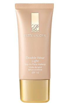 perfect foundation. light but covers well. lasts but does not cake. feels nice on. estee lauder double-wear light foundation.