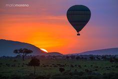 Photograph Balloon Over Mara by Mario Moreno on 500px