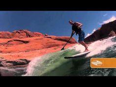 Boardworks Wake SUP Paddle Board at Lake Powell