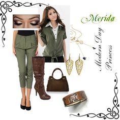"""Merida"" Modern Day Disney Princess"
