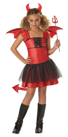 Devil Darling Child Costume from Buycostumes.com