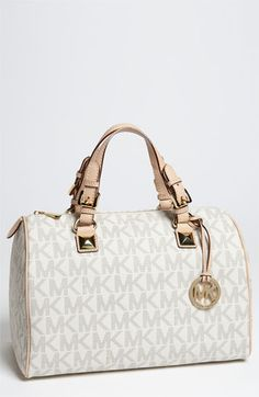 MICHAEL Michael Kors 'Grayson Logo' Satchel available at #Nordstrom