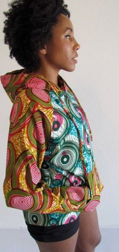 African Print Mix Summer Hoodie. #Africanfashion #AfricanClothing #Africanprints #Ethnicprints #Africangirls #africanTradition #BeautifulAfricanGirls #AfricanStyle #AfricanBeads #Gele #Kente #Ankara #Nigerianfashion #Ghanaianfashion #Kenyanfashion #Burundifashion #senegalesefashion #Swahilifashion DK